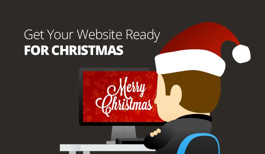 Getting your website Christmas ready